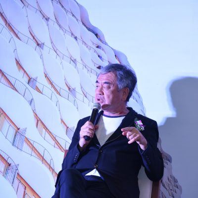 WATERINA SUITES  – MEETING WITH THE ARCHITECT MR. KENGO KUMA